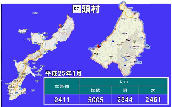 国頭村人口統計