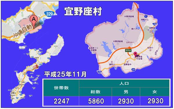 宜野座村人口統計