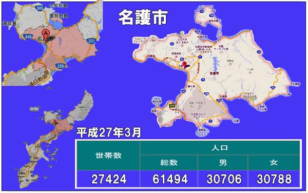 名護市人口統計