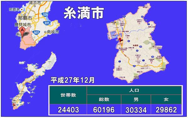 糸満市人口統計