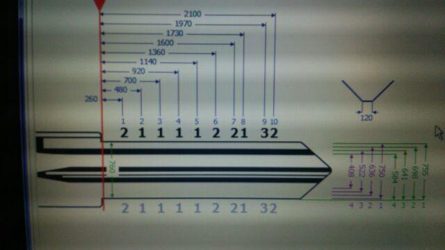 カギの設計図