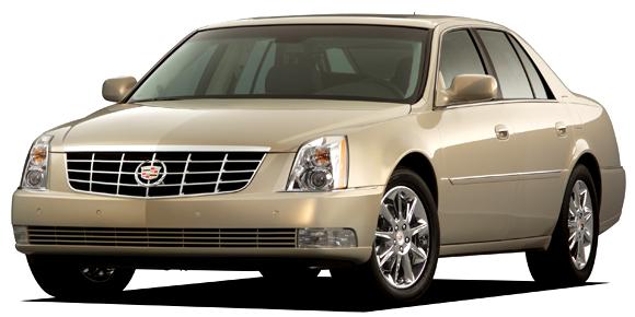 2009 Cadillac DTS Platinum. X09CA_DT001 (United States)