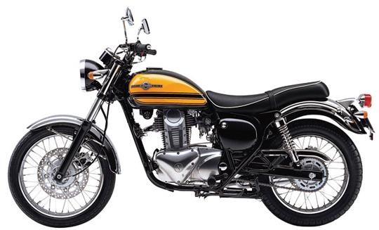 エストレヤ カワサキ バイク
