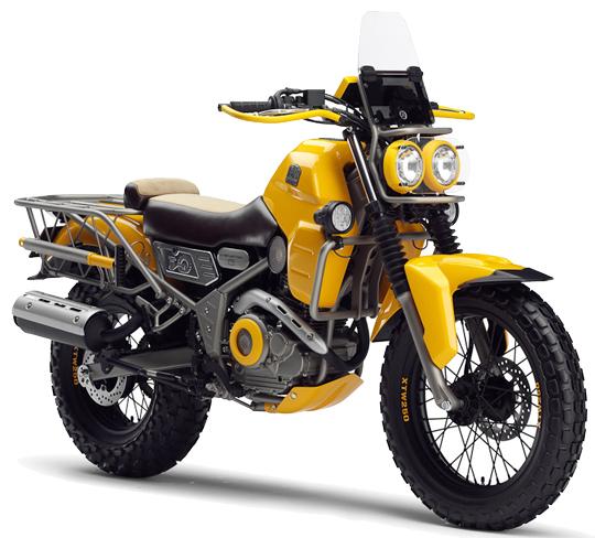 ヤマハ-バイク-AG2