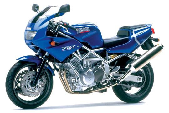 TRX850 ヤマハ バイク