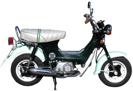 シャリィ ホンダ バイク