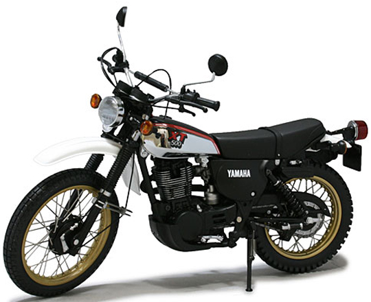 XT500-ヤマハ バイク