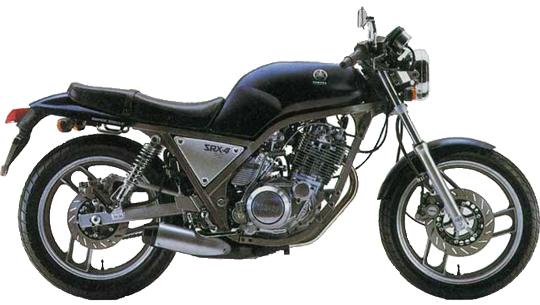 SRX ヤマハ バイク
