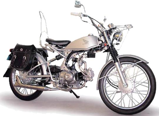 ソロ ホンダ バイク