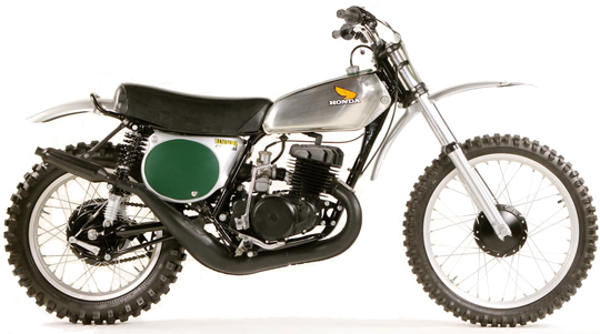 CR250M ホンダ バイク