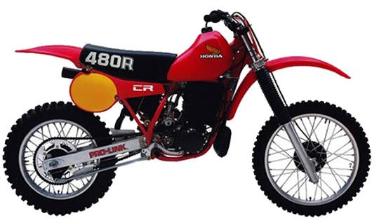 CR480R ホンダ バイク