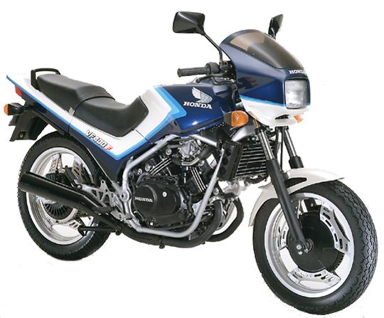VF400F ホンダ バイク