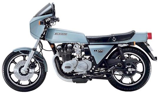 Z1-R カワサキ バイク