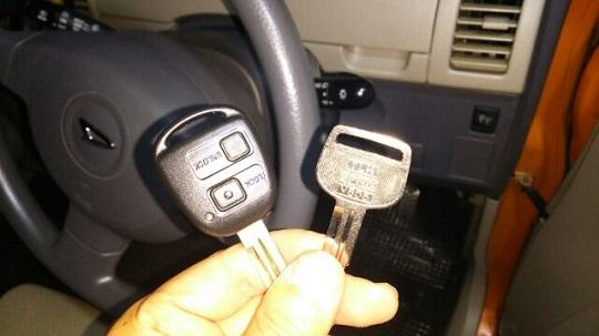 鍵とリモコンキー