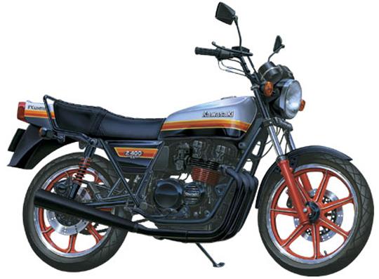 Z400FX カワサキ バイク