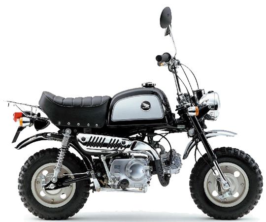 ゴリラ ホンダ バイク