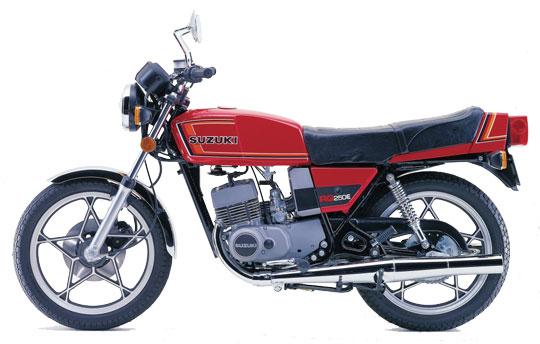 スズキ-RG250