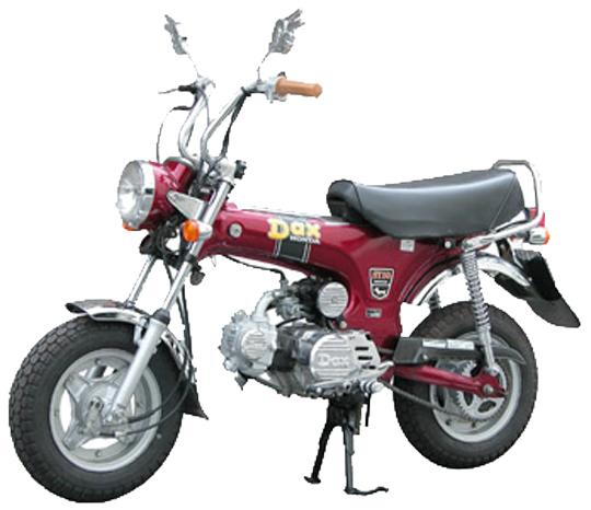 ダックス ホンダ バイク