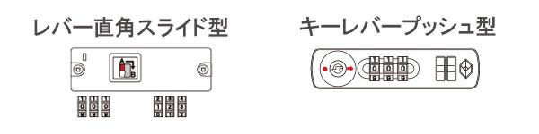 スーツケースのダイヤルの相性番号が変わりやすいタイプ