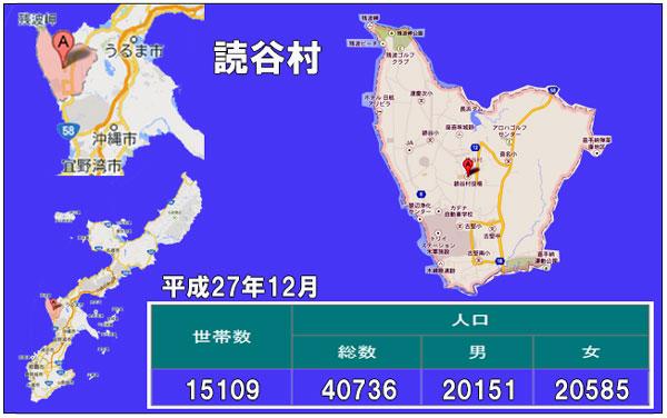 読谷村人口統計