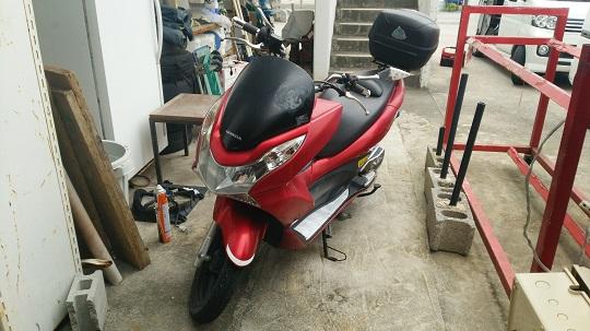 ホンダバイクPCX125cc
