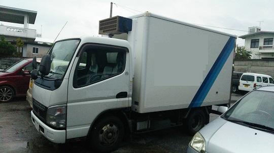ミツビシキャンター 冷凍車