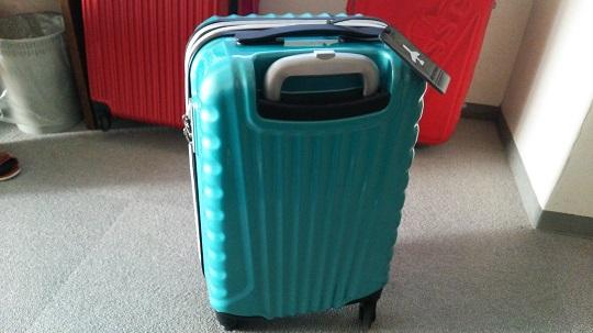 スーツケースTSAロック